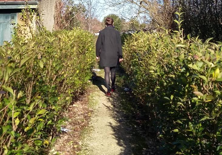 jardin privatif de la cité-jardin de Stains