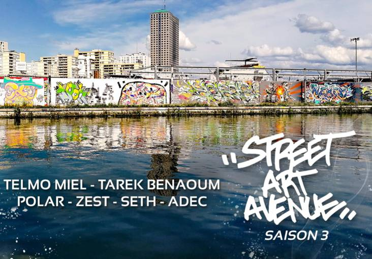 saison 3 - Street Art Avenue Grand Paris