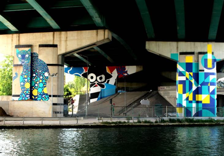 Saison 2 de la Street Art Avenue ©MaloGarnier