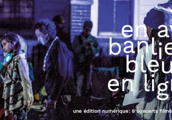 Affiche 2021 du festival de jazz Banlieues Bleues