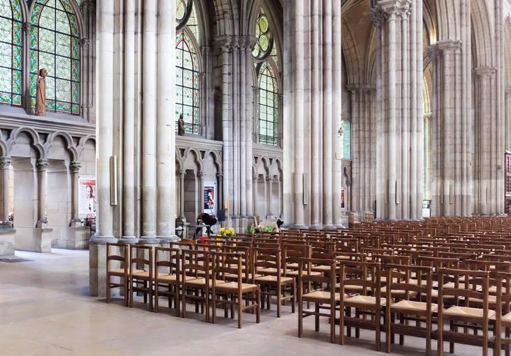 Basilique Cathédrale de Saint-Denis ©Mary-Quincy