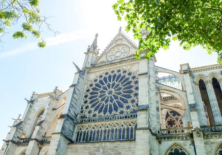 La basilique Cathédrale de Saint-Denis ©Mary Quincy