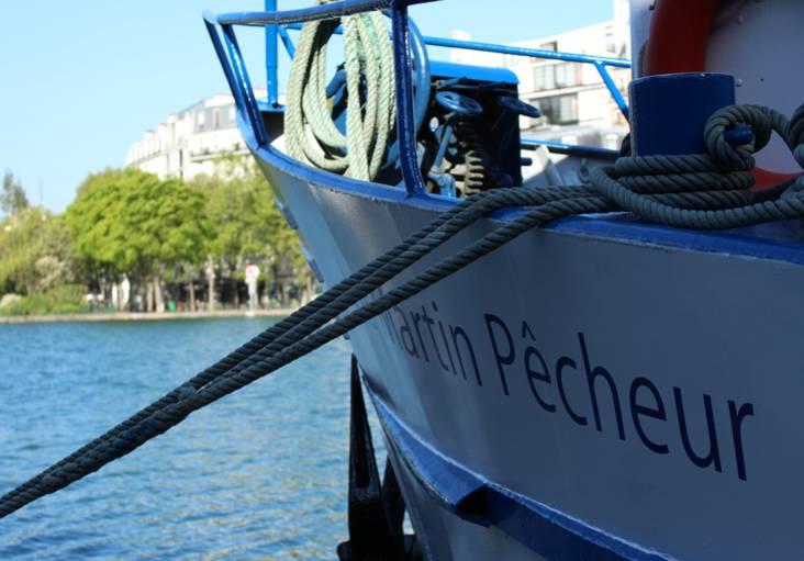 Canal de l'Ourcq ©CharlineFéral