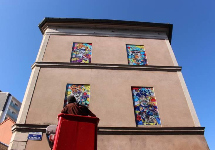 Fenêtre sur Rue : un nouveau parcours d'art urbain dans le centre-ville de Saint-Denis - Office de tourisme Plaine Commune Grand Paris et le MUR 93