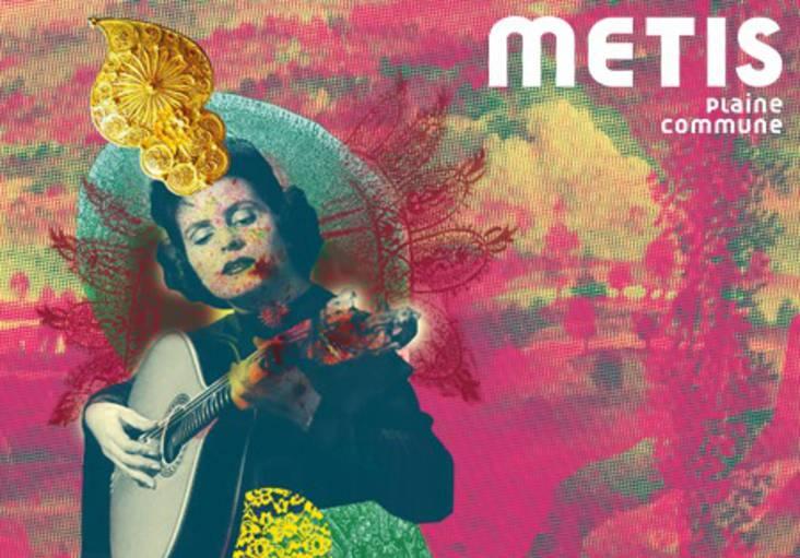 Affiche du festival Métis Plaine Commune 2021