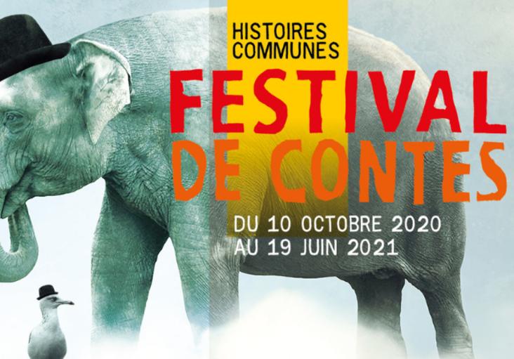affiche du festival histoire communes 2021