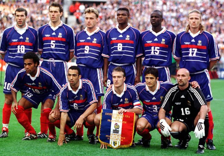 Equipe de France 1998 ©Sportmag