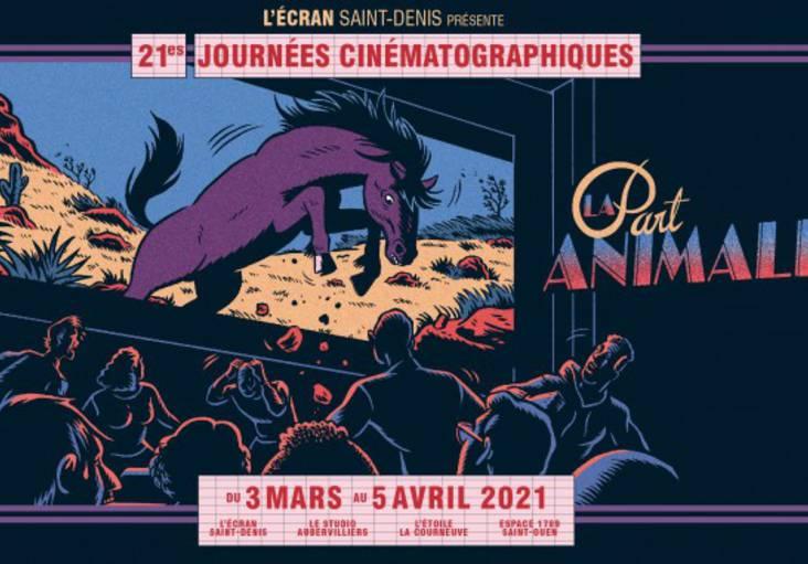 affiche du festival des journées cinématographiques