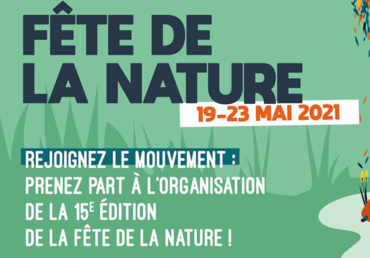 Affiche twitter de la fête de la Nature 2021