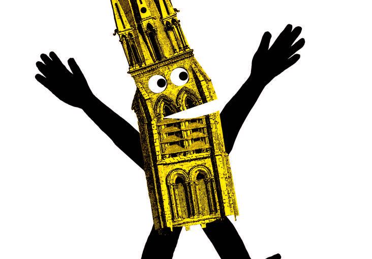 Suivez la flèche de la Basilique de Saint-Denis
