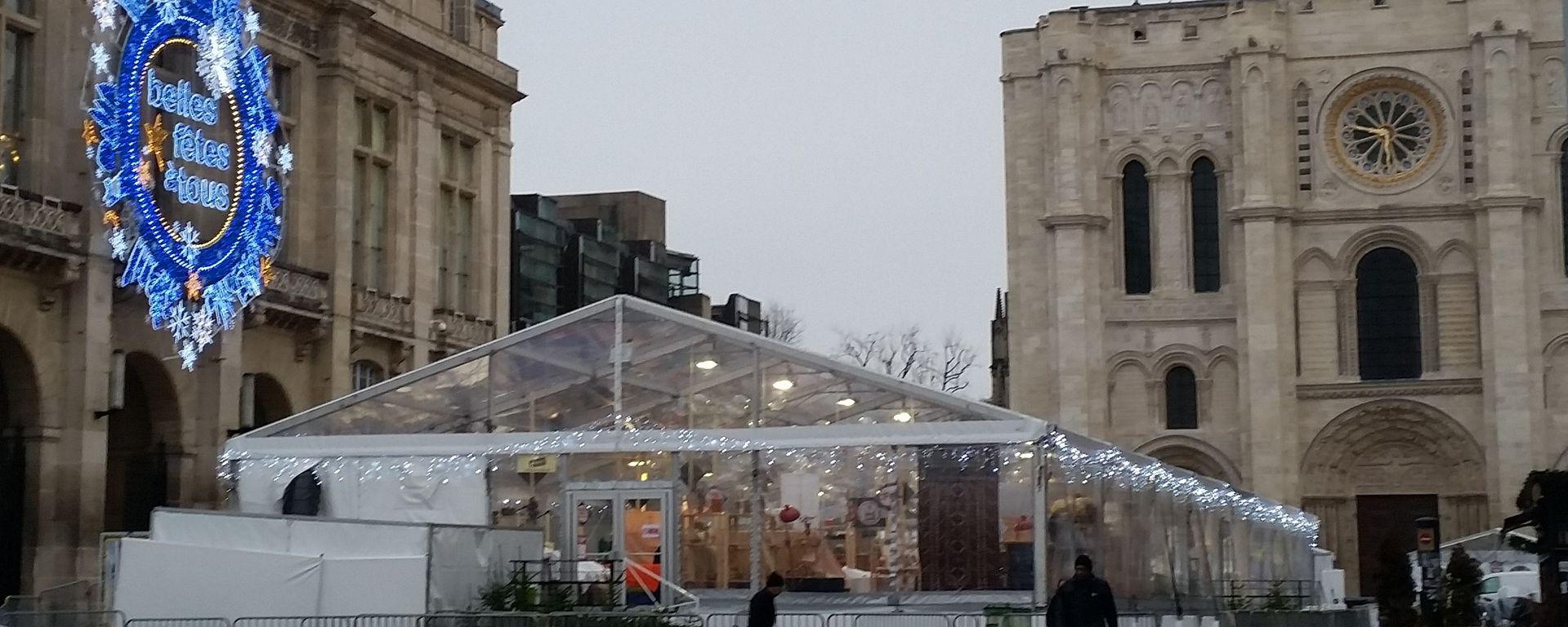 La Foire des Savoir-faire solidaires - marché de Noël - Saint-Denis - 93