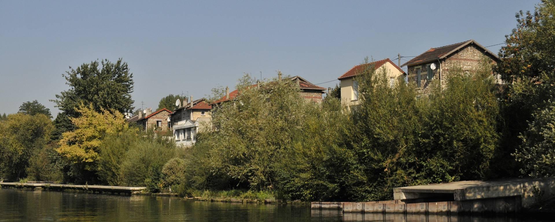 Seine au Nord Est de Paris