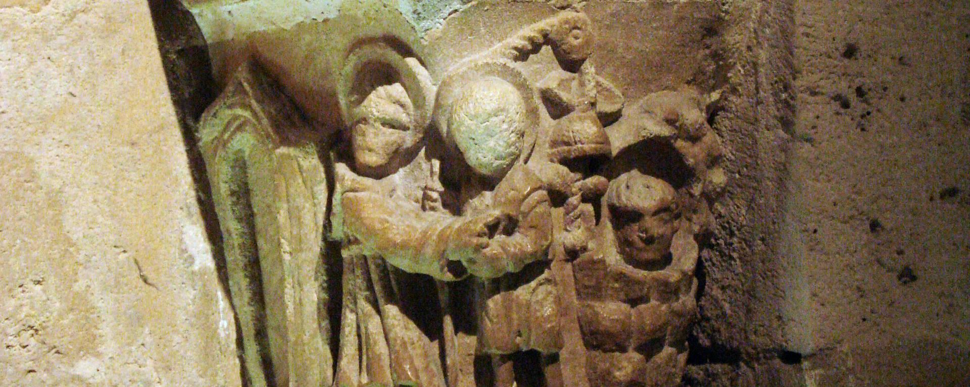 Historie marquee in the crypt- © Office de Tourisme de Plaine Commune Grand Paris