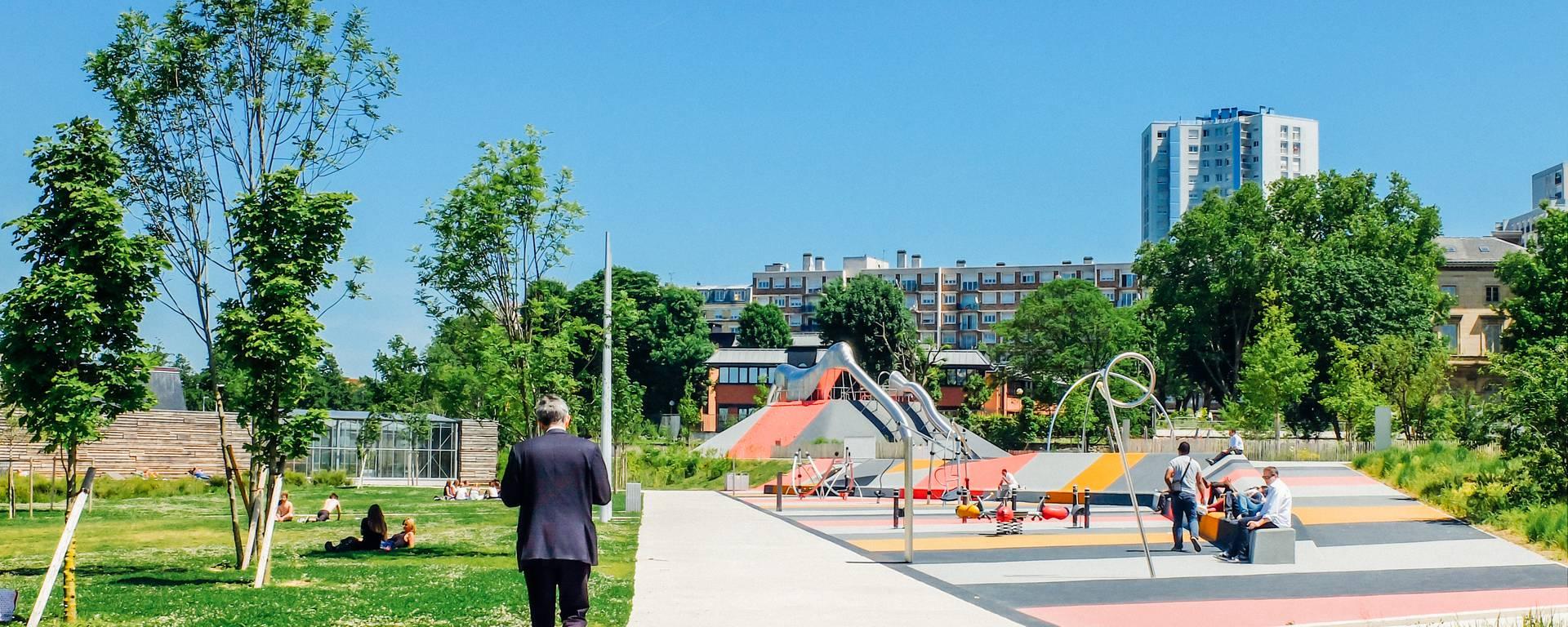 Grand parc de saint-ouen