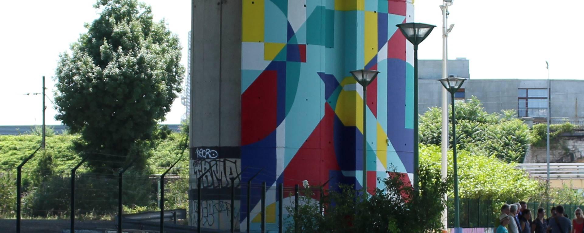 La Street Art Avenue Grand Paris sur le Canal Saint-Denis