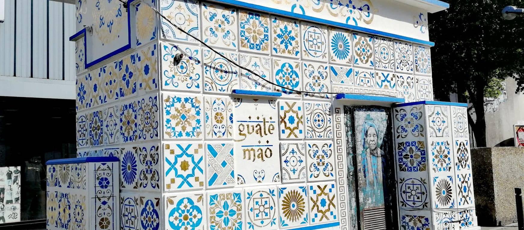 Oeuvre de Guate Mao sur boulevard Jules Guesde à Saint-Denis © Office de tourisme