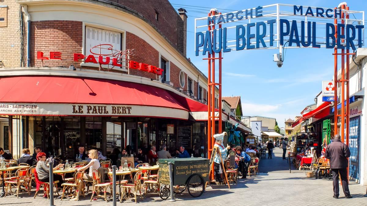 Visit the flea market office de tourisme de plaine - 30 avenue de la porte de clignancourt ...