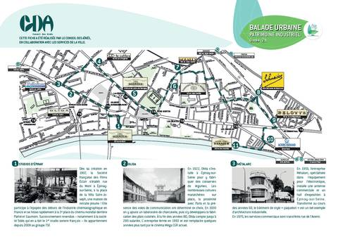 Balade urbaine : patrimoine industriel