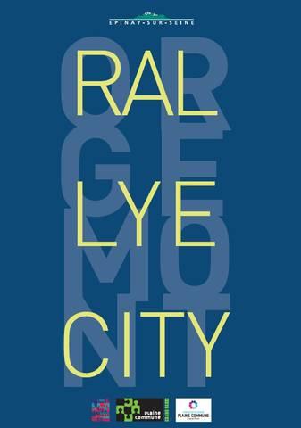 Rallye : centre-ville à Epinay-sur-Seine