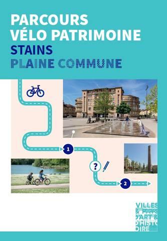 Parcours vélo patrimoine Stains