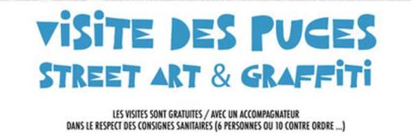 <h3> Street Art et Graffiti aux Puces</h3>