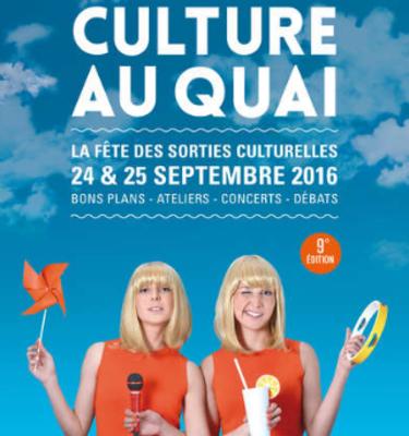 Culture au quai, Paris