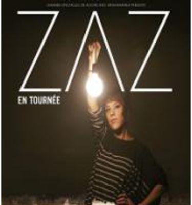 Affiche de la tournée de Zaz