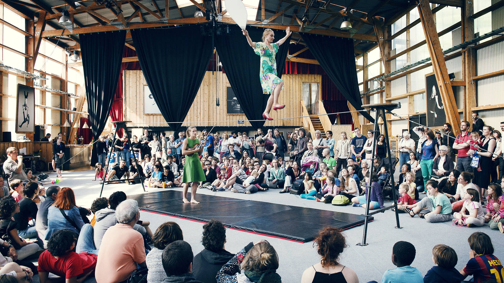 Académie Fratellini, spectacle de cirque