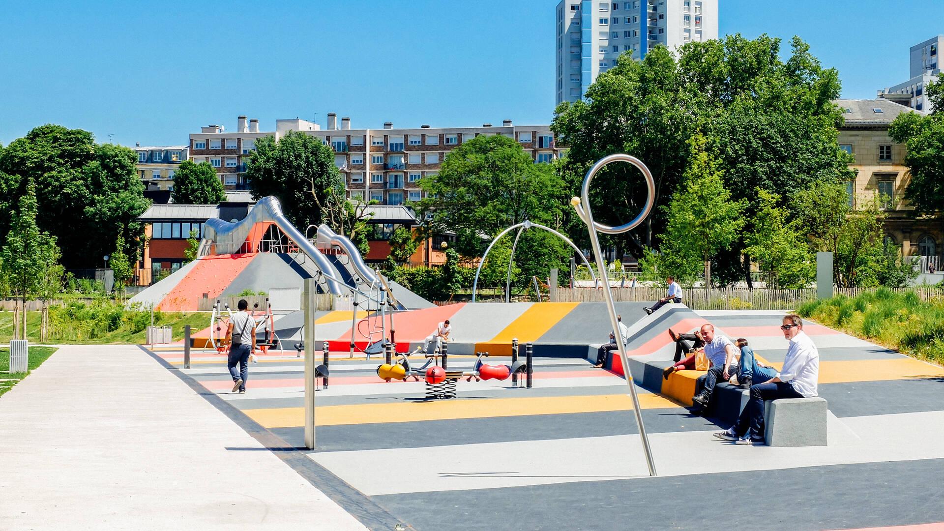 Grand Parc de Saint-Ouen (c) Mary Quincy