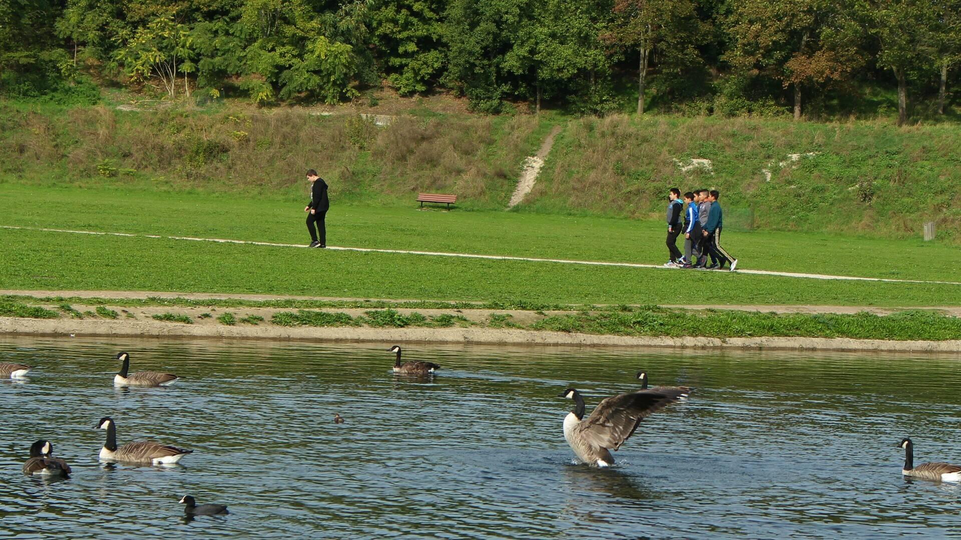 Parc départemental George Valbon à La Courneuve