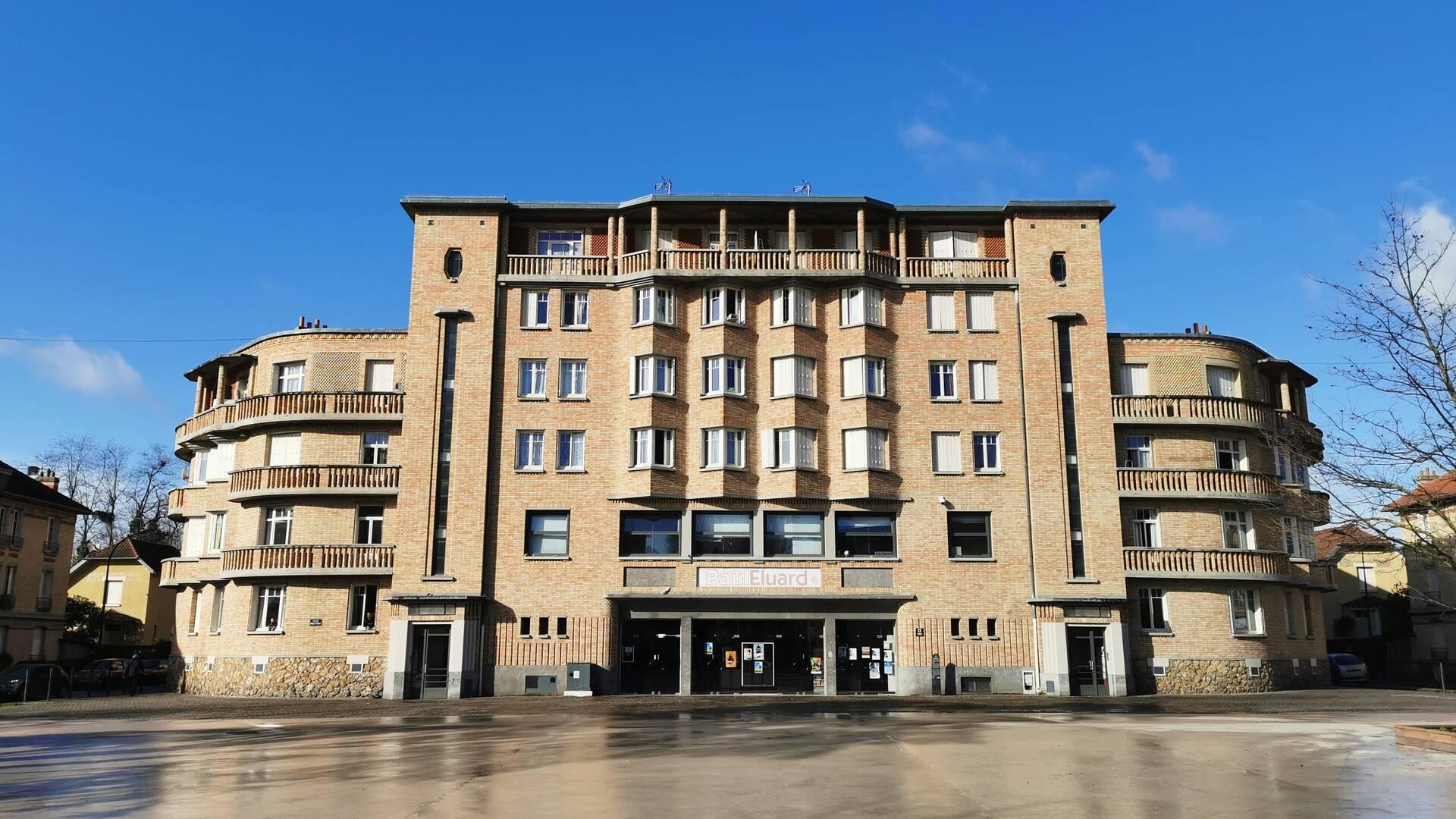 Espace Paul Eluard à Stains - crédit Office de tourisme Plaine Commune Grand Paris