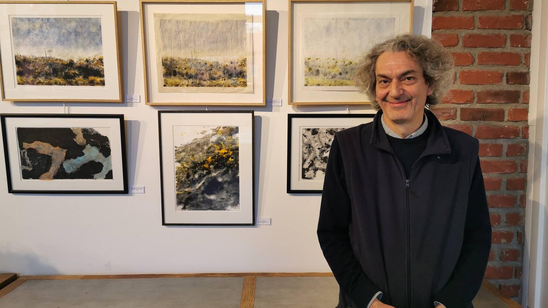 Lionel Parlier, élève des Beaux-Arts de Saint-Ouen-sur-Seine