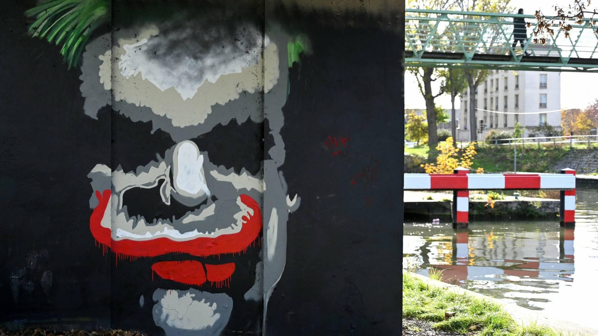 Le Joker sur le canal Saint-Denis à Aubervilliers - crédit Aiman Saad