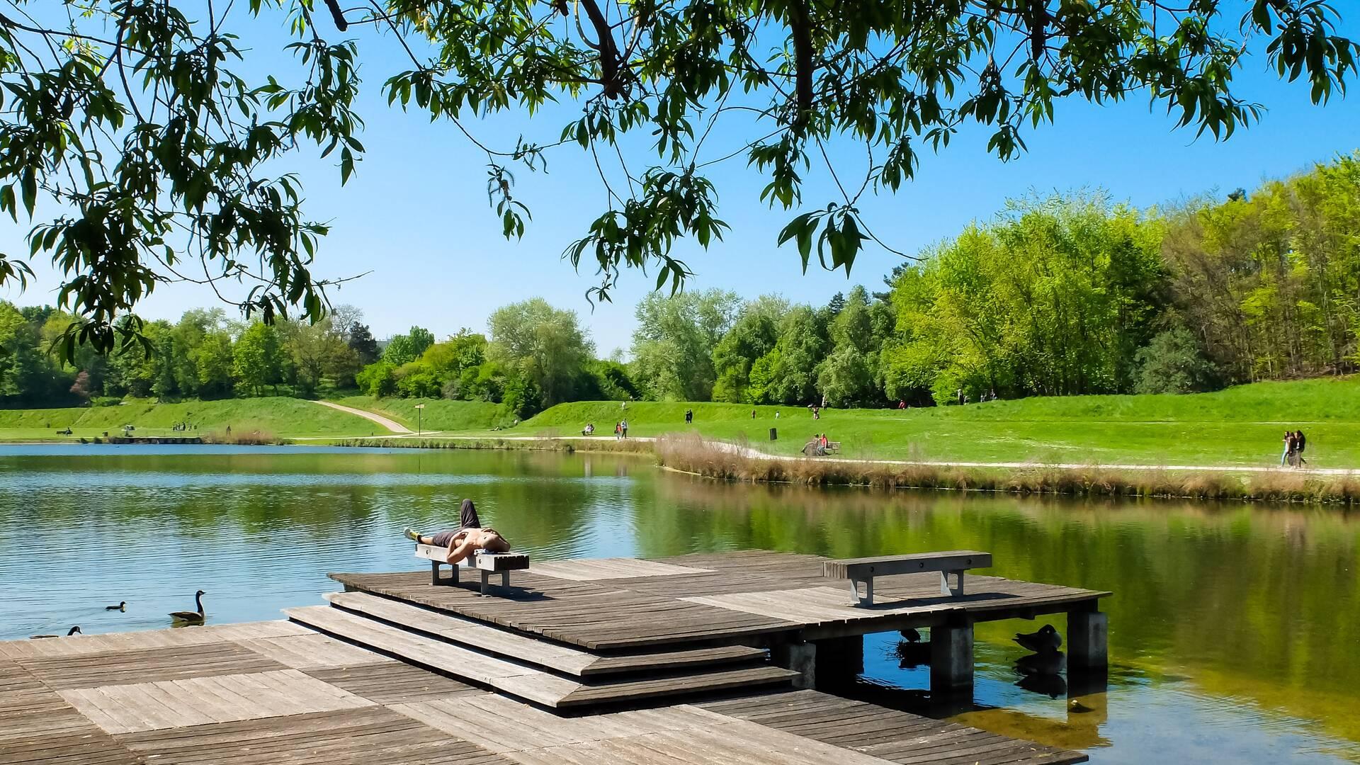 Parc Georges Valbon - crédit Mary Quincy - Office de tourisme Plaine Commune Grand Paris
