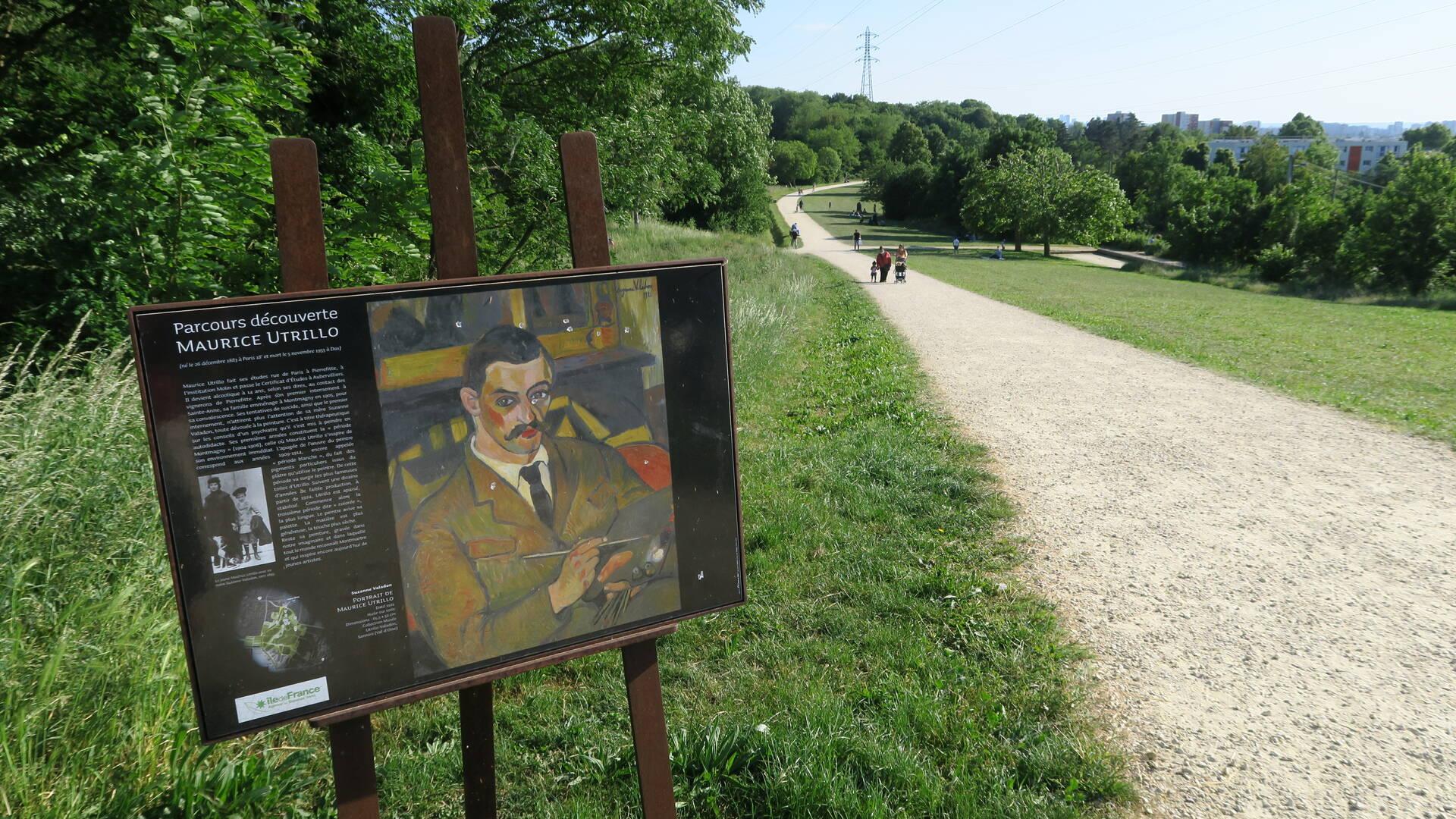 Parc de la Butte Pinson à Villetaneuse - Office de tourisme Plaine Commune Grand Paris