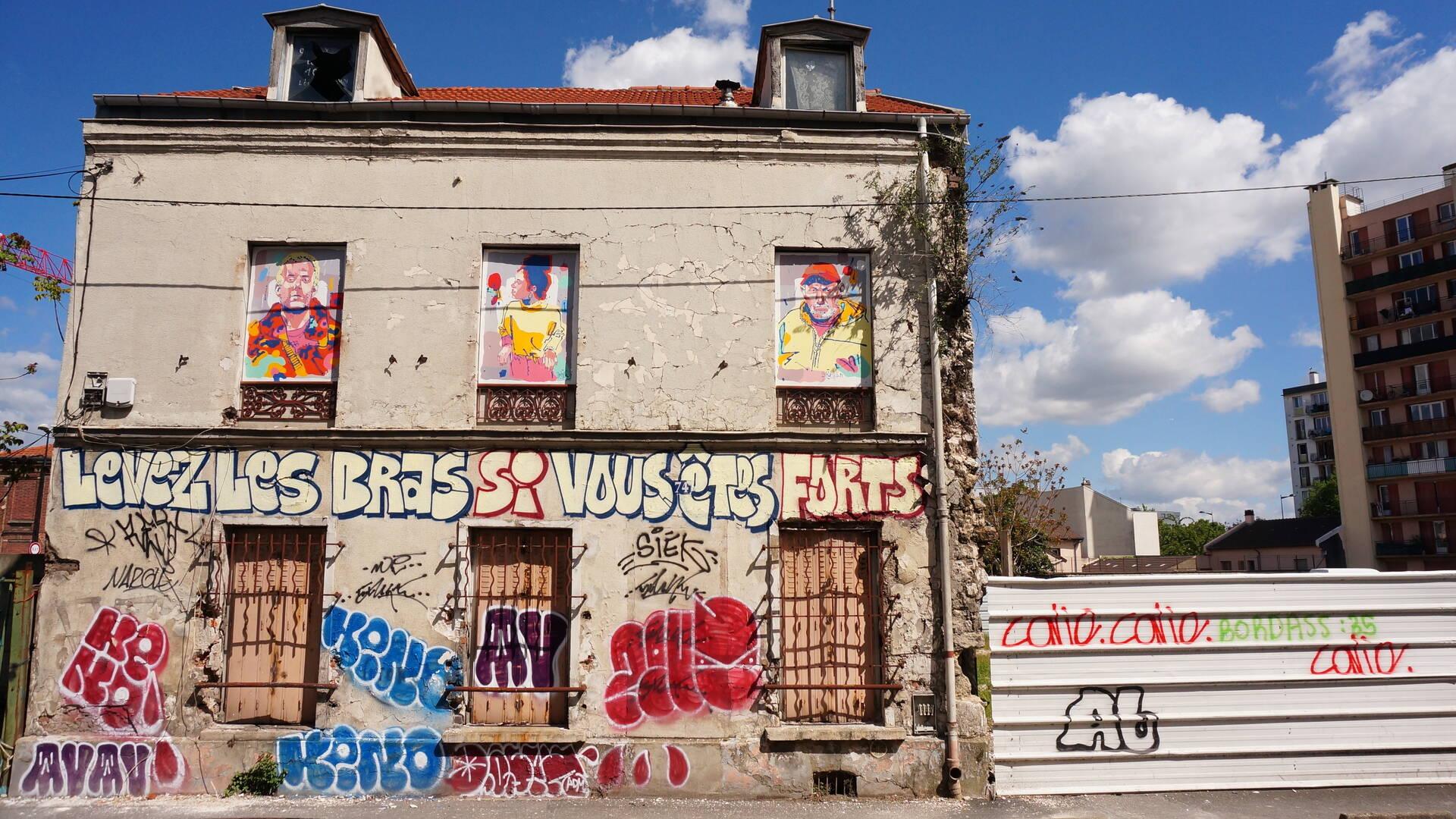 Les habitants Antoine, Naema et Remars par l'artiste Zeklo - crédit Pstk82
