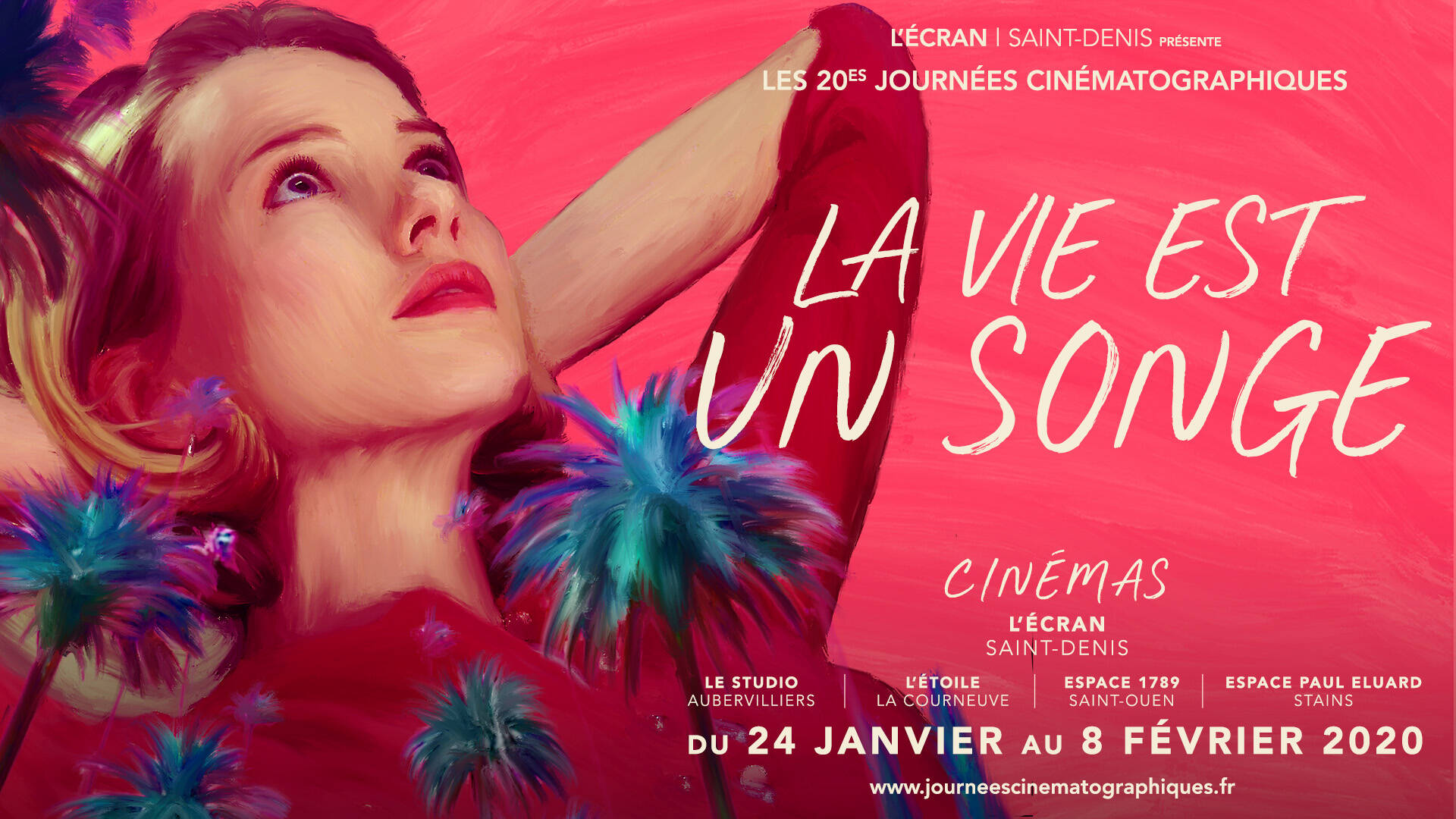 20th cinematographic days at the screen cinema in Saint-Denis