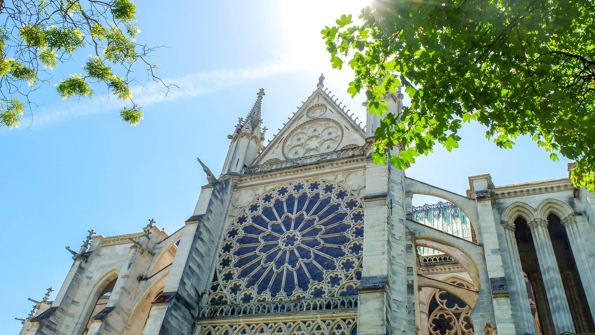 Basílica Catedral Saint-Denis -  llanura oficina de turismo de parís grand paris