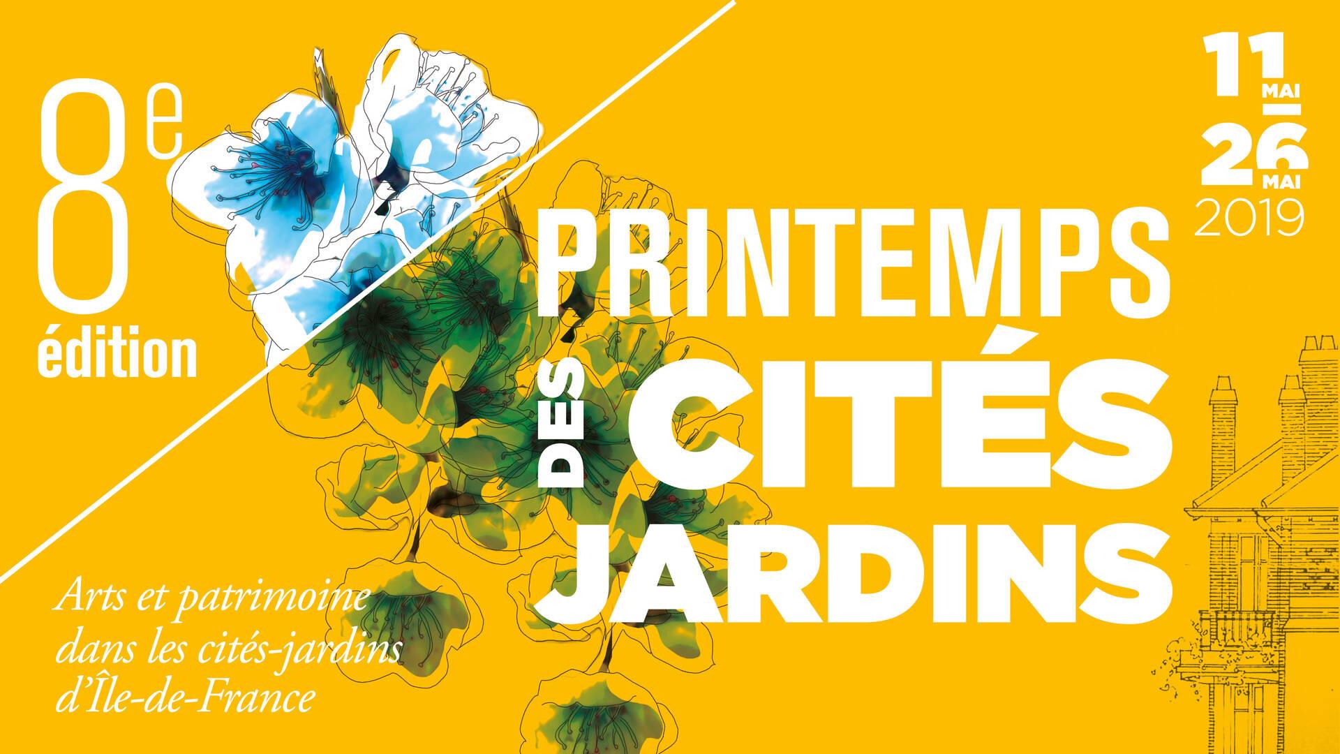 printemps des cités jardins - tourisme plaine commune grand paris nord