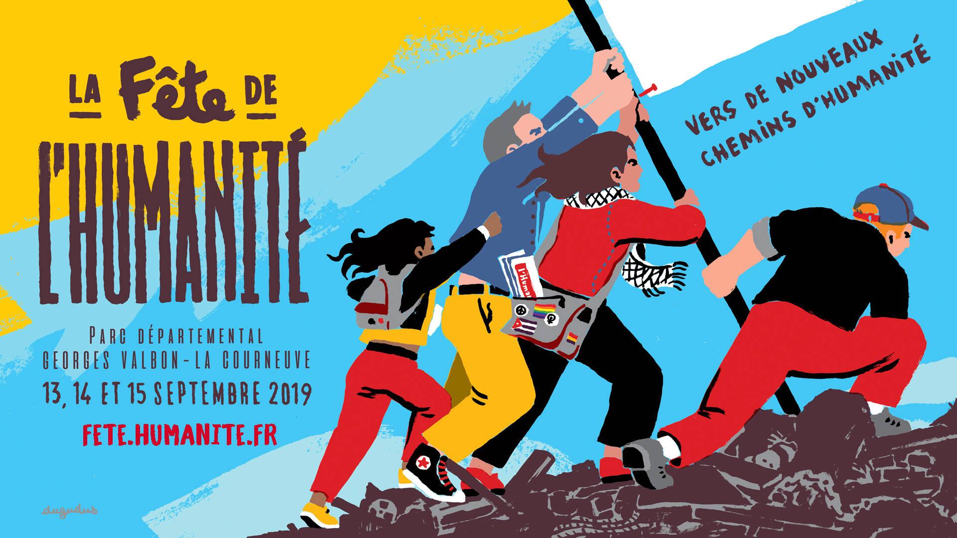 fête de l'humanité 2019 - tourisme plaine commune grand paris