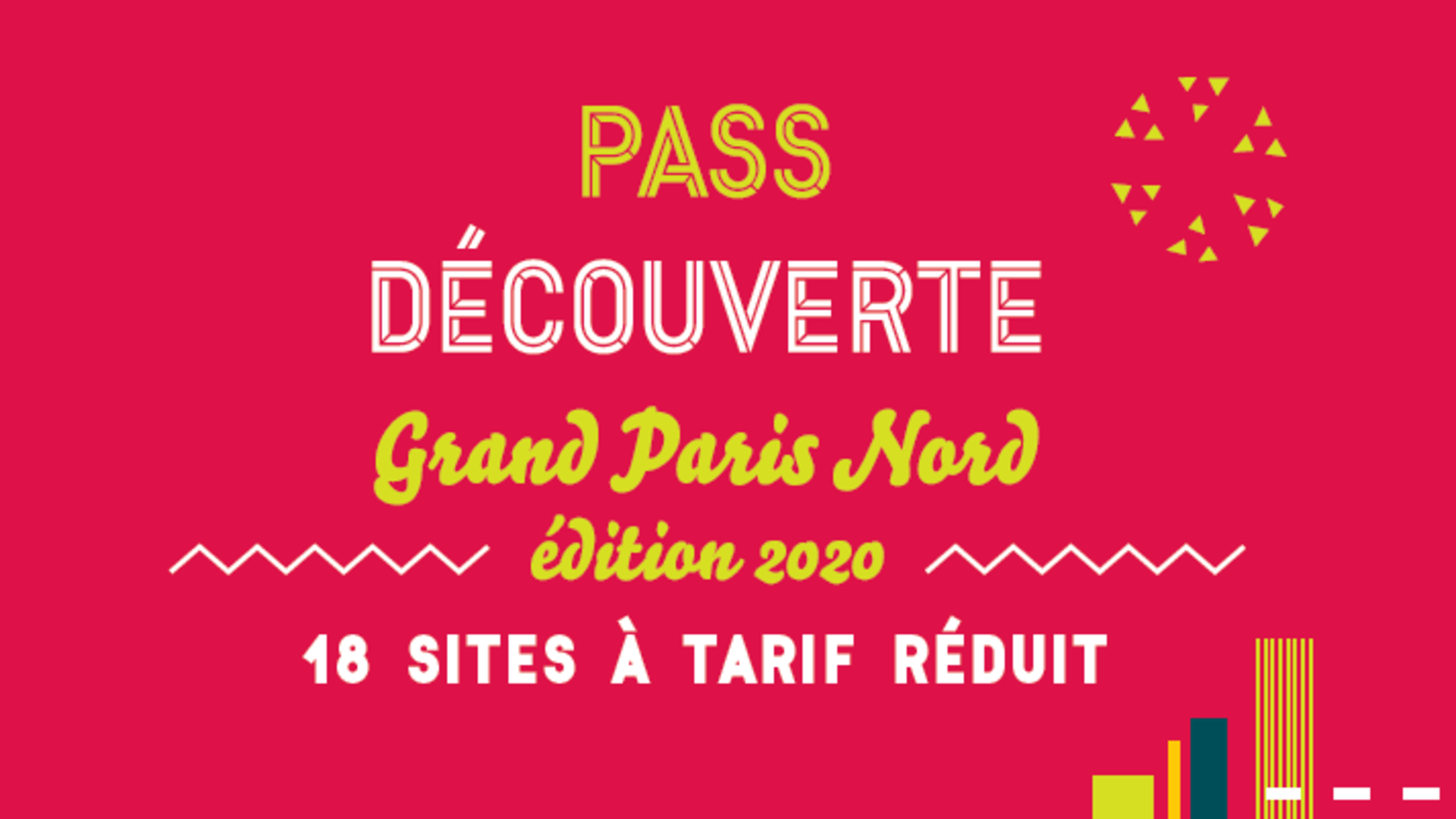 Pass découverte 2020 - Oficina de turismo Plaine Commune Grand Paris
