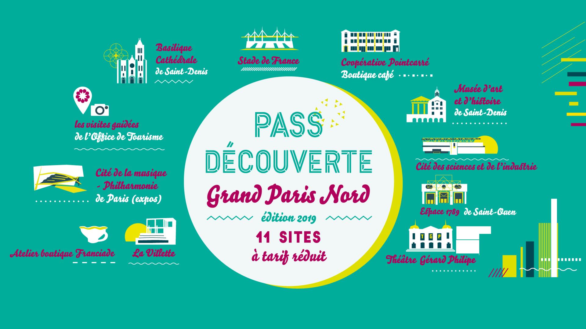 Pass Découverte Grand Nord 2019 - Tourisme Grand Paris Nord