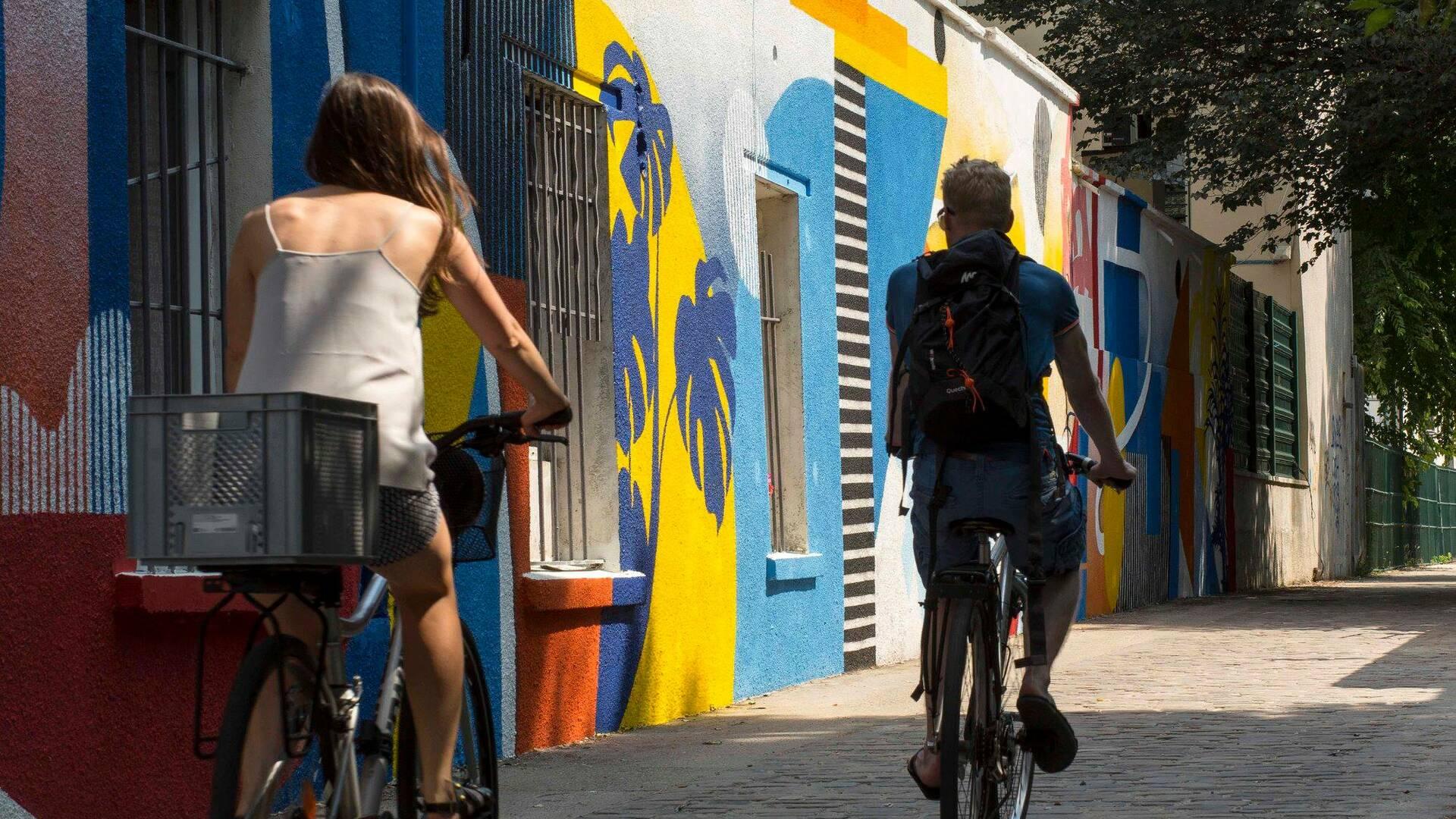 Balade le long du canal saint denis sur la Street Art Avenue - crédit Pierre Le Tulzo
