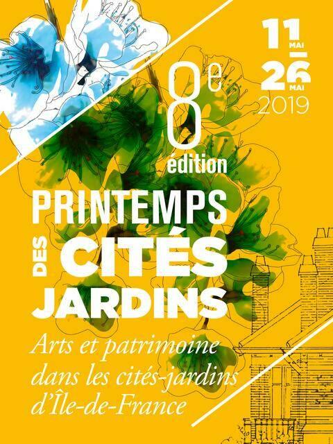 Affiche du Printemps des cités-jardins