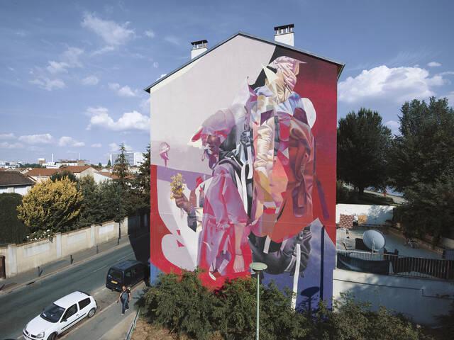 Oeuvre de Telmo Miel pour la saison 3 de la Street Art Avenue © Telmo Miel