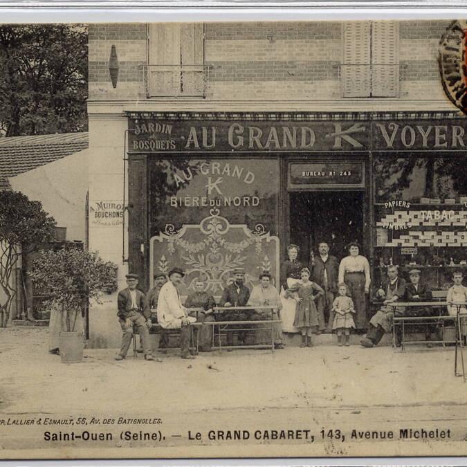 Bistrots, cafés, cabarets et autres lieux ludiques sont nombreux à l'époque - © Collection Felix_Barbier