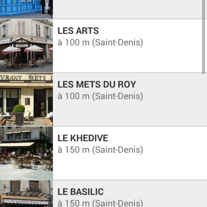 Restaurants près du Stade de France, marché aux puces et basilique de Saint-Denis