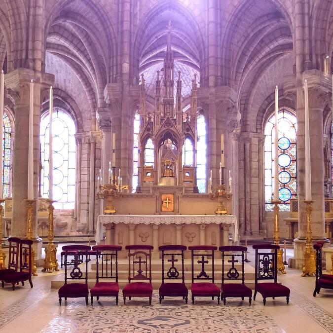 Basilique Cathédrale de Saint-Denis - ©Mary Quincy