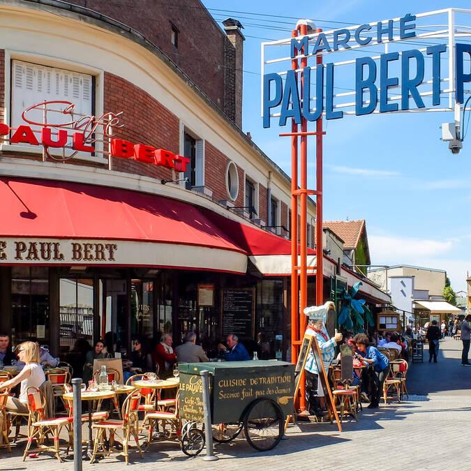 Marché Paul Bert - © Office de Tourisme de Plaine Commune Grand Paris