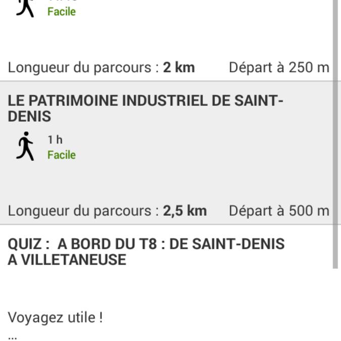 itinéraires et balades au Nord-Est de Paris